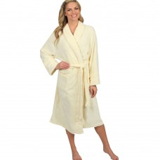 Terry Ivory Bathrobe