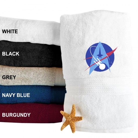 A Star Ship Logo Embroidered Terry Towel 500 GSM