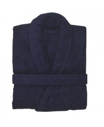 Terry Navy Robe