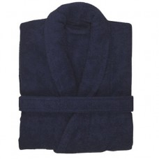 Terry Navy Robe
