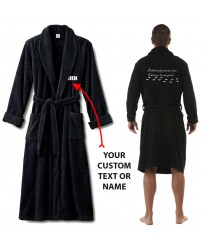 I solemnly swear i'm upto no good with custom text Bathrobe