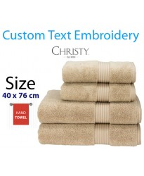 Stone embroidered Name Towel