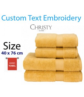 Honey embroidered Name Towel