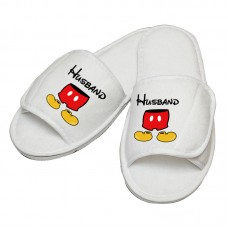 Personalised embroidery MICKEY custom text slipper