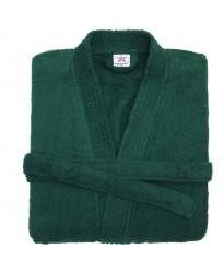 Terry Kimono Dark Green Bathrobe