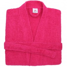 Terry Kimono Hot pink Bathrobe