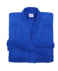 Terry Kimono Royal Blue Bathrobe