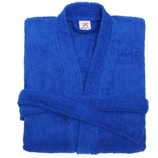 Terry Kimono Royal Blue Bathrobe