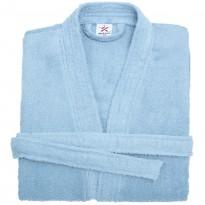 Terry Kimono Sky Blue Bathrobe