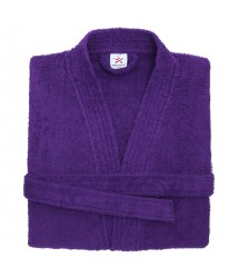 Terry Kimono Purple Bathrobe
