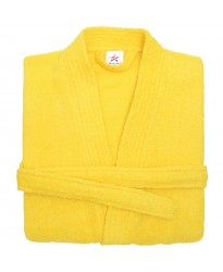Terry Kimono Yellow Bathrobe