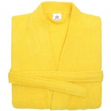 Terry Kimono Yellow Bathrobe