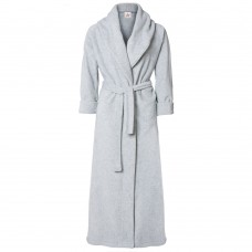 Bathrobes in Ash Grey Cotton Terry