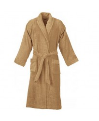 Terry Beige Bathrobe