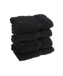 SS Black Hand Towel 500 GSM