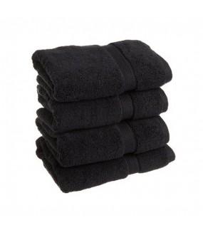 Towel City Bath Sheet Black Towel 70 x 140 cm
