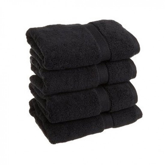 Towel City Bath Sheet Black Towel 70 x 140 cm