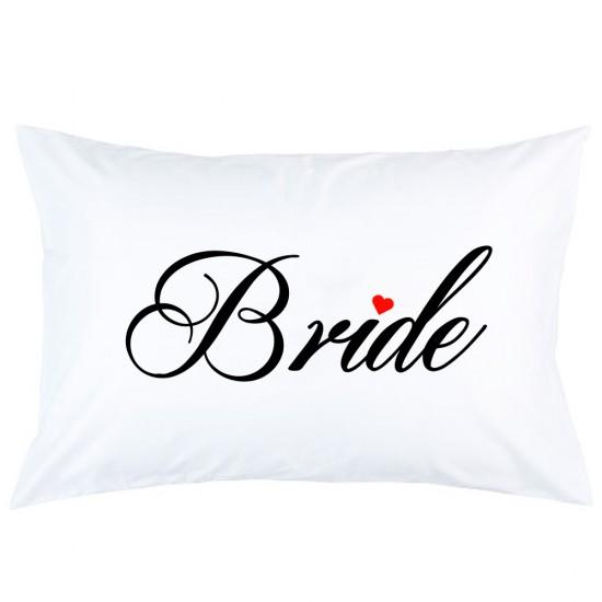 BRIDE logo FRONT + Bride text on BACK embroidered Bathrobe