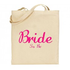 Bride to be bridesmaid tote bag