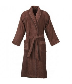 Terry Brown Robe