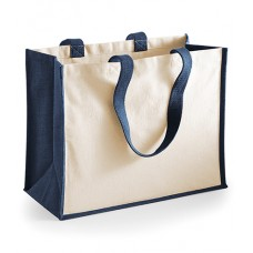 Personalised Printers Jute Shopper W422 Westford Mill