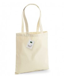 Personalised EarthAware Organic Bag For Life W801 Westford Mill 340 GSM