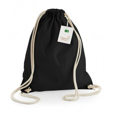 Personalised EarthAware Organic Gymsac W810 Westford Mill 340 GSM