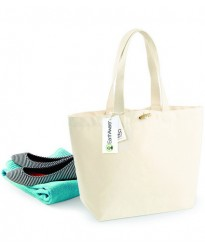Personalised EarthAware Organic Marina Tote W850 Westford Mill 340 GSM