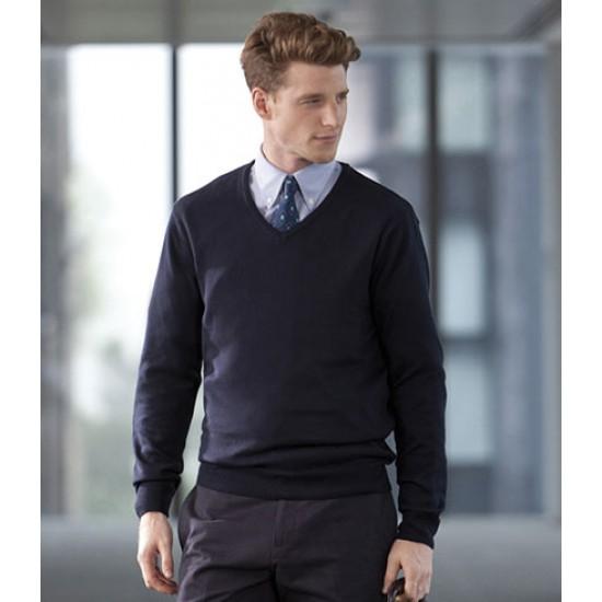 Personalised Lightweight V Neck Sweater H720 Henbury