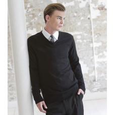 Personalised Acrylic V Neck Sweater H760 Henbury