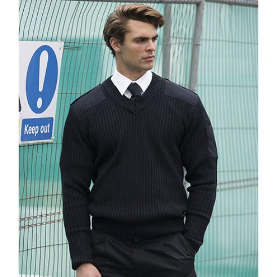 Personalised Nato Style V Neck Sweater RT22 RTY