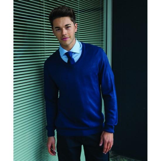 Personalised Soft Feel Acrylic V Neck Sweater RT23 RTY