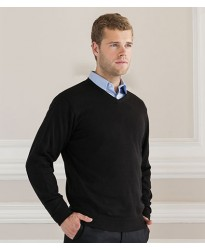 Personalised V Neck Sweater 710M Russell 275 GSM
