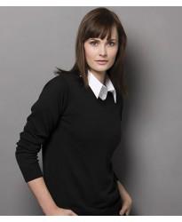 Personalised Ladies Arundel V Neck Sweater K353 Kustom Kit