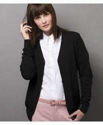 Personalised Ladies Arundel V Neck Cardigan K354 Kustom Kit