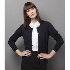 Personalised Ladies Arundel Round Neck Cardigan K355 Kustom Kit