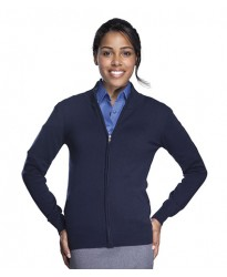 Personalised Ladies Gordon Full Zip Cardigan 10550 SOL'S 280 GSM