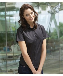 Personalised Ladies Stretch Shirt H540 Henbury 135 GSM