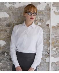 Personalised Ladies Anti-bac Wicking Long Sleeve Shirt H591 Henbury 115 GSM