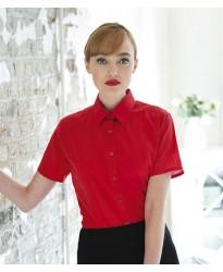 Personalised Ladies Short Anti-bac Sleeve Wicking Shirt H596 Henbury 115 GSM