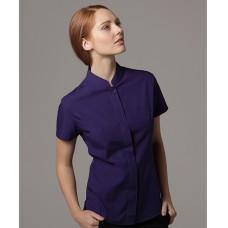 Personalised Ladies Mandarin Collar Shirt K260 Kariban 115 GSM