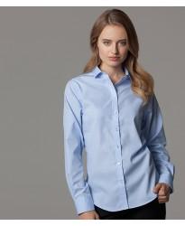 Personalised Ladies Long Sleeve Premium Corporate Shirt K316 Kustom Kit 125 GSM