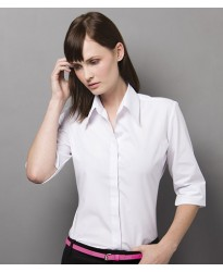 Personalised Ladies 3/4 Sleeve Continental Blouse K715 Kustom Kit 115 GSM