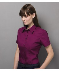 Personalised Ladies Corporate Oxford Shirt with Pocket K719 Kustom Kit 125 GSM