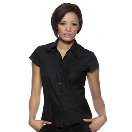 Personalised Bargear Ladies Cap Sleeve Shirt K795 Kustom Kit 120 GSM
