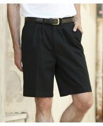 Personalised Chino Shorts H605 Henbury 100% cotton twill.. GSM
