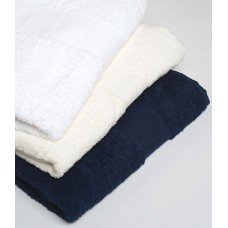 Personalised Egyptian Cotton Bath Sheet TC76 Towel City 600 GSM