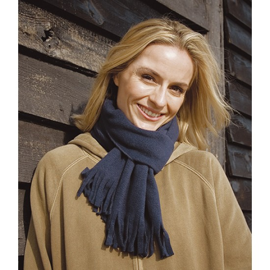 Personalised Polartherm Tassel Scarf RS143 Result 230 GSM