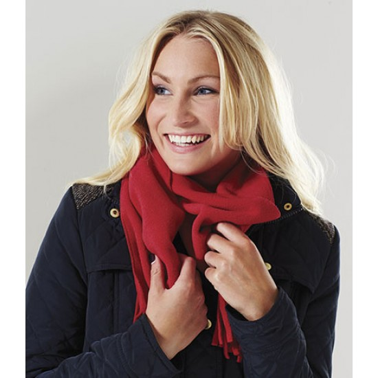 Personalised Suprafleece Dolomite Scarf BB291 Beechfield  GSM