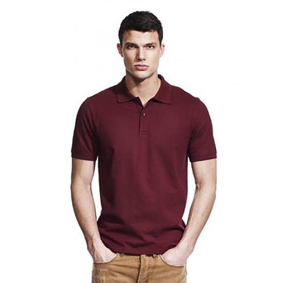 Personalised Men'S Jersey Polo T-Shirt N34 Continental 165 GSM